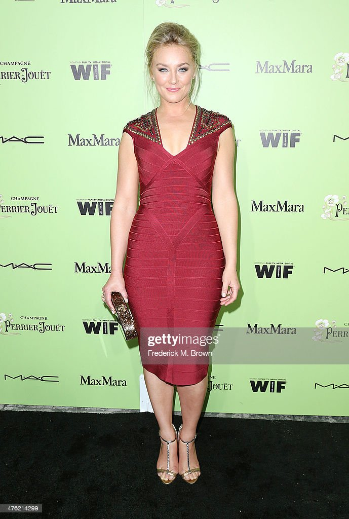 Actress <a gi-track='captionPersonalityLinkClicked' href=/galleries/search?phrase=Elisabeth+Rohm&family=editorial&specificpeople=203139 ng-click='$event.stopPropagation()'>Elisabeth Rohm</a> attends the Women in Film Pre-Oscar Cocktail Party Presented by Perrier-Jouet, MAC & MaxMara at the Fig & Olive Melrose Place on February 28, 2014 in West Hollywood, California.