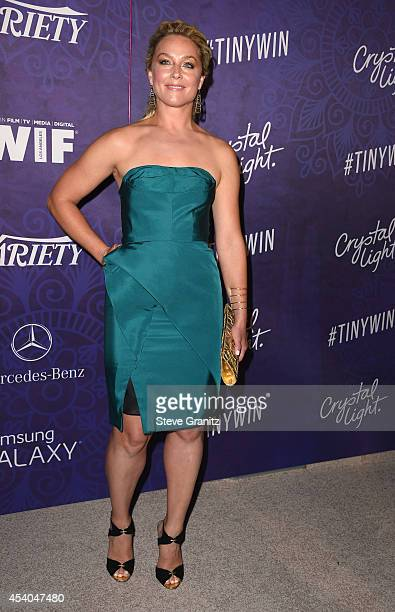 Actress Elisabeth Rohm attends Variety and Women in Film Annual PreEmmy Celebration at Gracias Madre on August 23 2014 in West Hollywood California