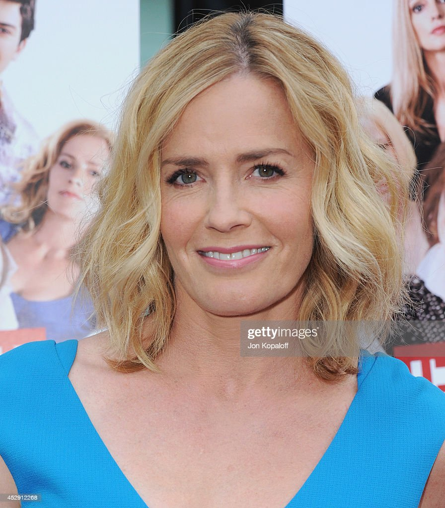 Actress <a gi-track='captionPersonalityLinkClicked' href=/galleries/search?phrase=Elisabeth+Shue&family=editorial&specificpeople=216625 ng-click='$event.stopPropagation()'>Elisabeth Shue</a> arrives at the Los Angeles Premiere 'Behaving Badly' at ArcLight Hollywood on July 29, 2014 in Hollywood, California.