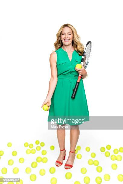 Actress Elisabeth Shue is photographed for AARP Magazine on May 16 2017 in Los Angeles California ON DOMESTIC EMBARGO UNTIL OCTOBER 1 2017 ON...