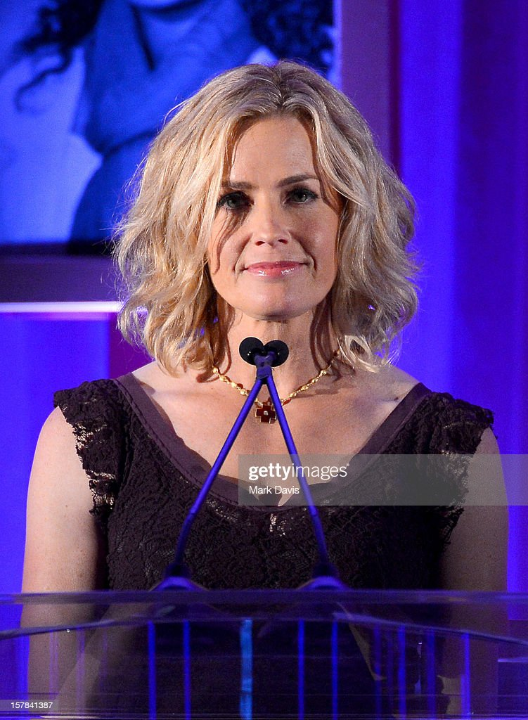 Actress Elisabeth Shue onstage at the Children's Defense Fund of California 22nd Annual Beat The Odds Awards at Beverly Hills Hotel on December 6, 2012 in Beverly Hills, California.