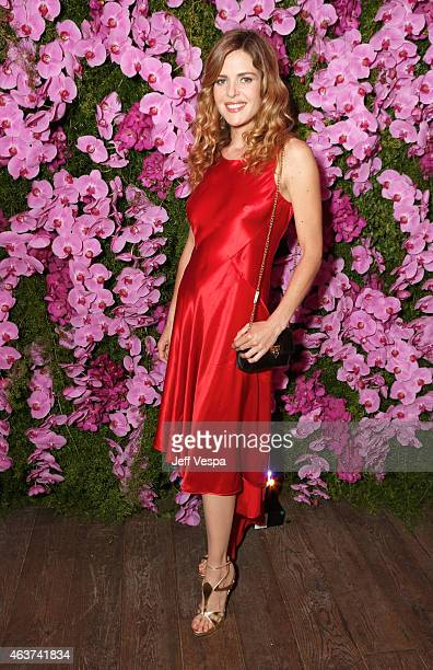 Actress Elisabetta Pellini attends BVLGARI and Save The Children STOP THINK GIVE PreOscar Event at Spago on February 17 2015 in Beverly Hills...