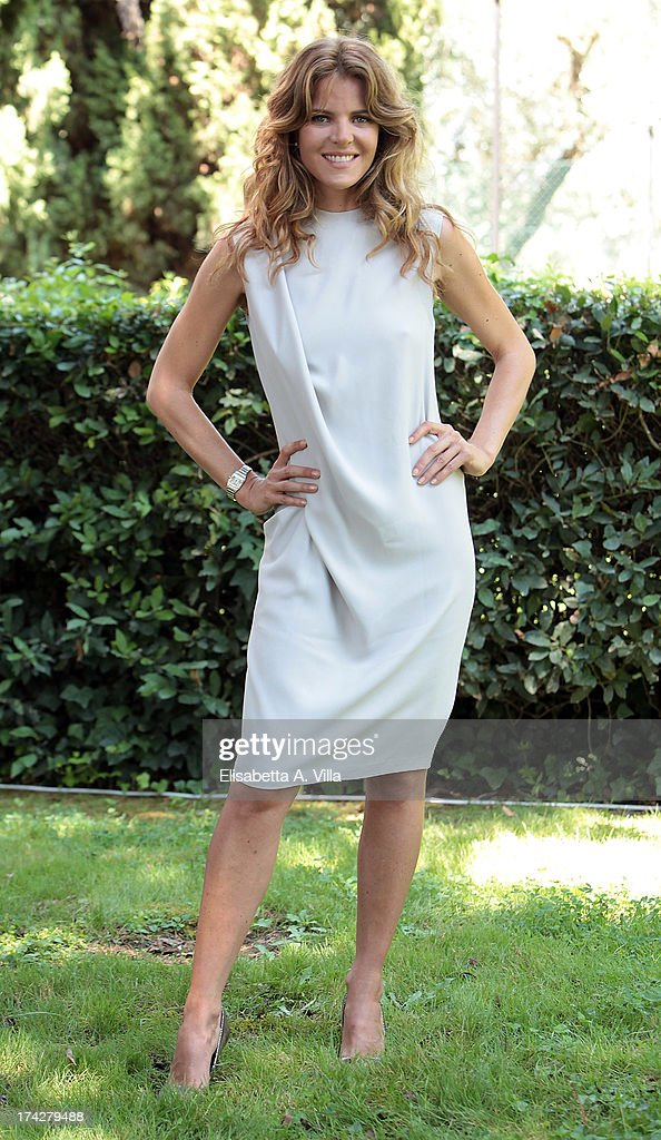 Actress Elisabetta Pellini attends 'La Tre Rose Di Eva 2' photocall at Mediaset Studios on July 23, 2013 in Rome, Italy.