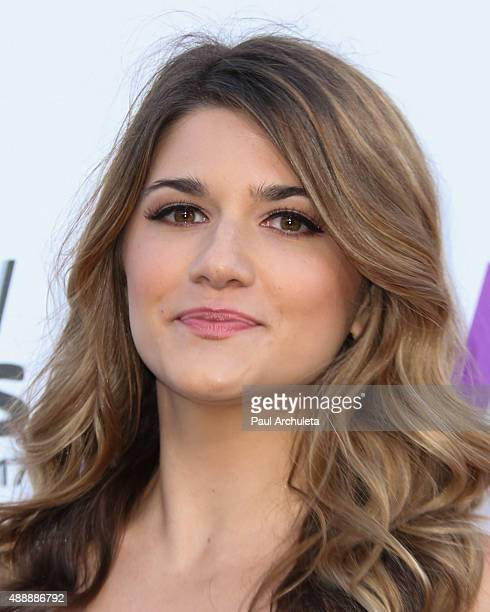 Actress Elise Bauman attends the 5th Annual Streamy Awards at The Hollywood Palladium on September 17 2015 in Los Angeles California