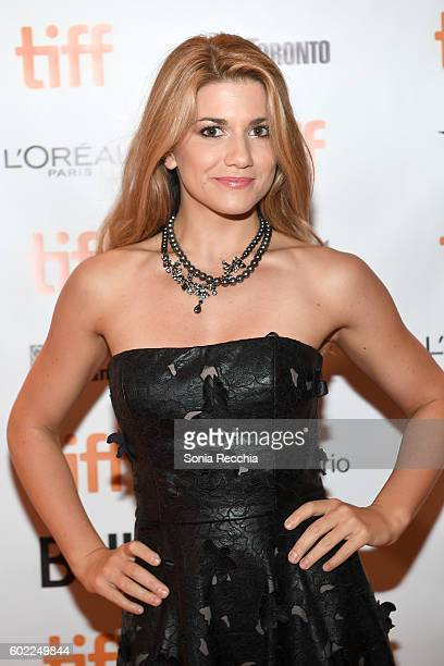 Actress Elise Bauman attends the 'Below Her Mouth' premiere during the 2016 Toronto International Film Festival at Isabel Bader Theatre on September...