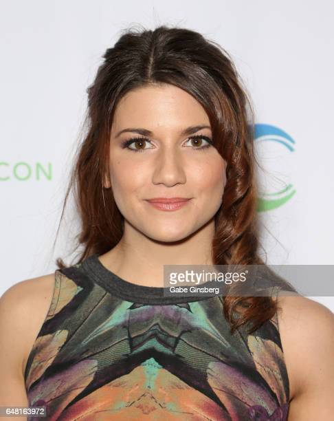 Actress Elise Bauman attends ClexaCon 2017 convention at Bally's Las Vegas on March 4 2017 in Las Vegas Nevada