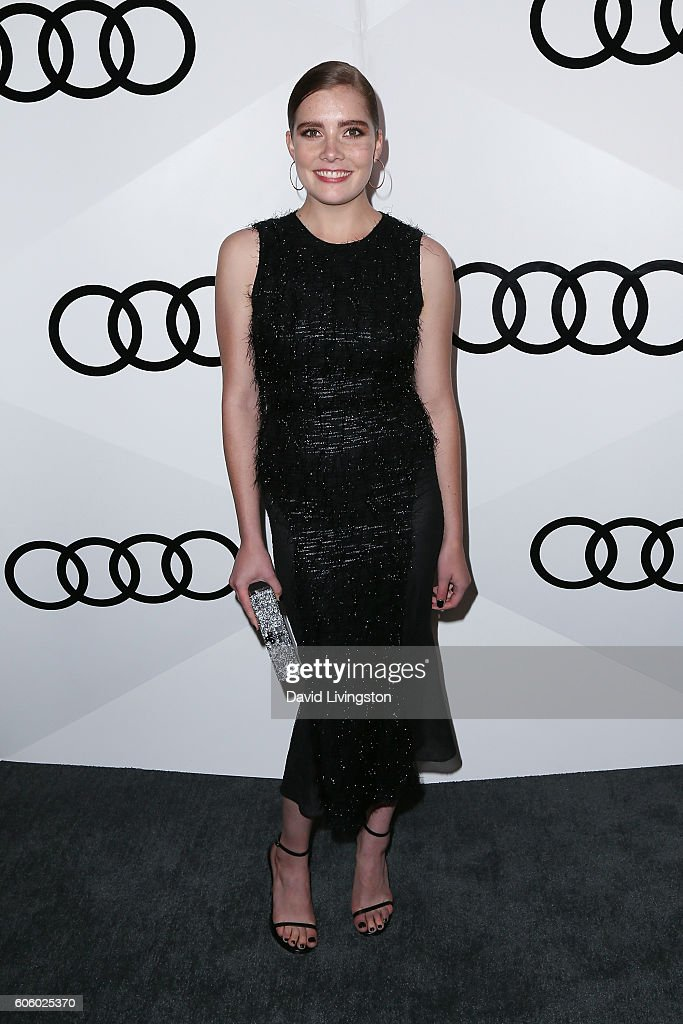 Actress Elise Eberle arrives at Audi Celebrates The 68th Emmys at Catch on September 15, 2016 in West Hollywood, California.