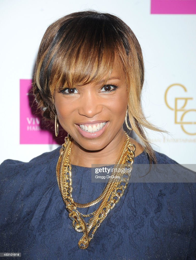Actress <a gi-track='captionPersonalityLinkClicked' href=/galleries/search?phrase=Elise+Neal&family=editorial&specificpeople=204780 ng-click='$event.stopPropagation()'>Elise Neal</a> arrives at the Vivica A. Fox 50th Birthday party at Philippe Chow on August 2, 2014 in Beverly Hills, California.