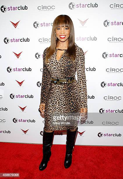 Actress Elise Neal attends StarClub Inc's Private Party hosted by Tyrese Gibson on Tuesday November 11 2014 in Santa Monica California