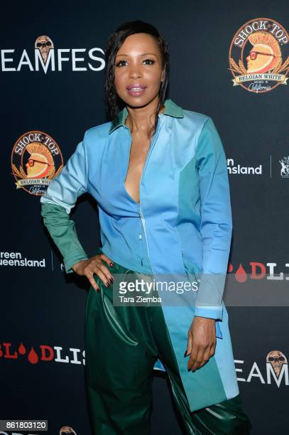 Actress Elise Neal attends the 2017 Screamfest Horror Film Festival at TCL Chinese 6 Theatres on October 15 2017 in Hollywood California