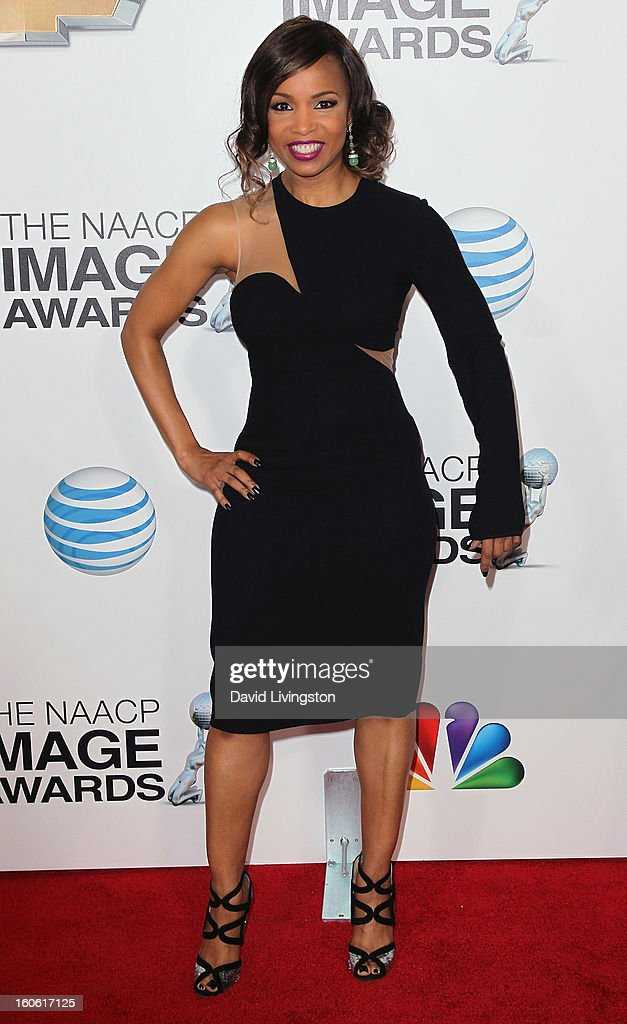 Actress Elise Neal attends the 44th NAACP Image Awards at the Shrine Auditorium on February 1, 2013 in Los Angeles, California.