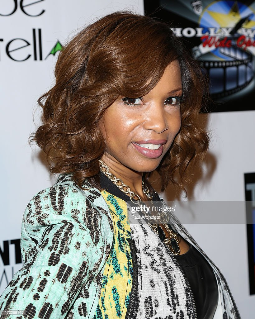 Actress <a gi-track='captionPersonalityLinkClicked' href=/galleries/search?phrase=Elise+Neal&family=editorial&specificpeople=204780 ng-click='$event.stopPropagation()'>Elise Neal</a> attends the 'Party After' the 2013 BET Awards hosted by Chris Brown and Nick Cannon at The Belasco Theater on June 30, 2013 in Los Angeles, California.