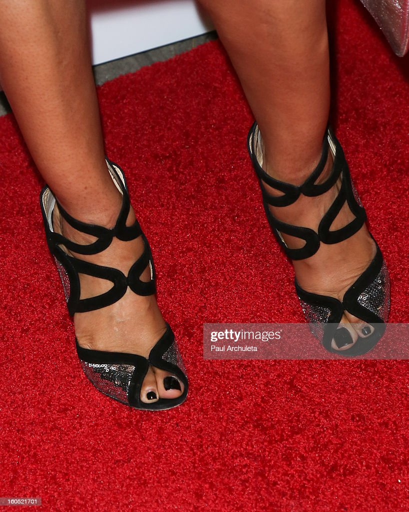 Actress Elise Neal (Shoe Detail) attends the The 44th NAACP Image Awards post show gala at the Millennium Biltmore Hotel on February 1, 2013 in Los Angeles, California.