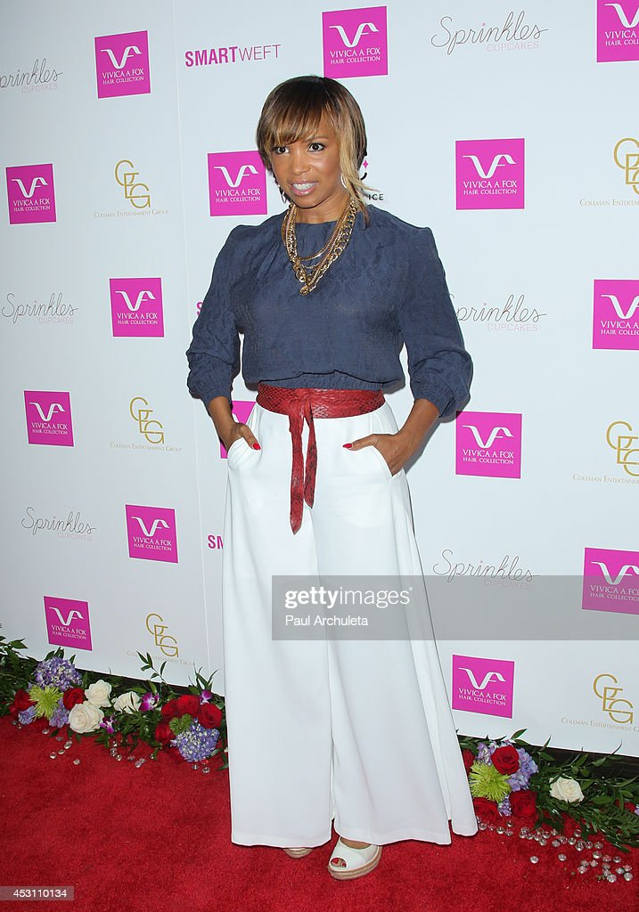 Actress <a gi-track='captionPersonalityLinkClicked' href=/galleries/search?phrase=Elise+Neal&family=editorial&specificpeople=204780 ng-click='$event.stopPropagation()'>Elise Neal</a> attends Vivica A. Fox's 50th birthday celebration at Philippe Chow on August 2, 2014 in Beverly Hills, California.