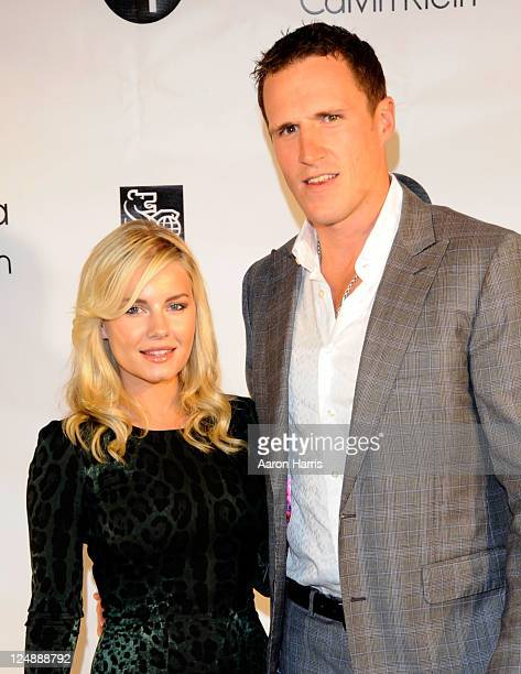 Actress Elisha Cuthbert and NHL player Dion Phaneuf attend The Independent Filmmaker Project RBC And Euphoria Calvin Klein Celebrate Independent Film...
