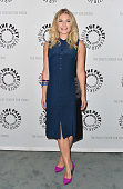 Actress Elisha Cuthbert arrives to The Paley Center For Media's An Evening With 'Happy Endings' and 'Don't Trust the B In Apartment 23' at The Paley...
