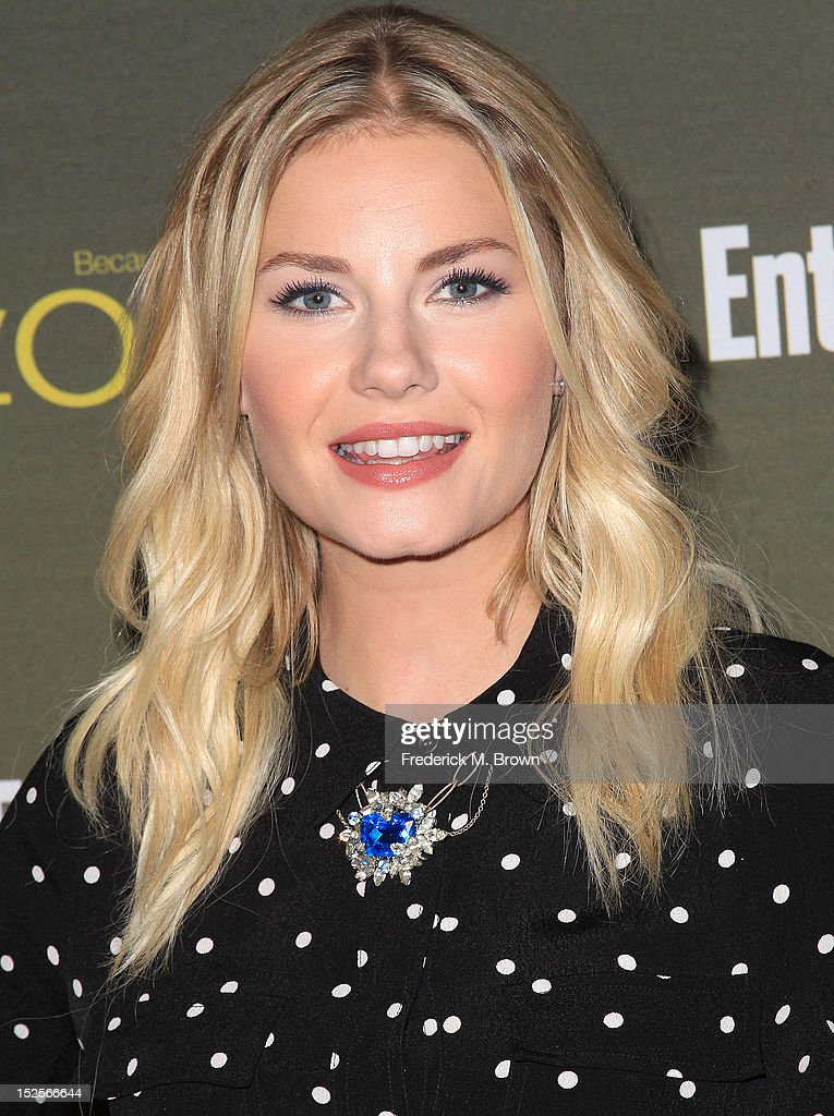 Actress Elisha Cuthbert attends the 2012 Entertainment Weekly Pre-Emmy Party at the Fig & Olive on September 21, 2012 in West Hollywood, California.