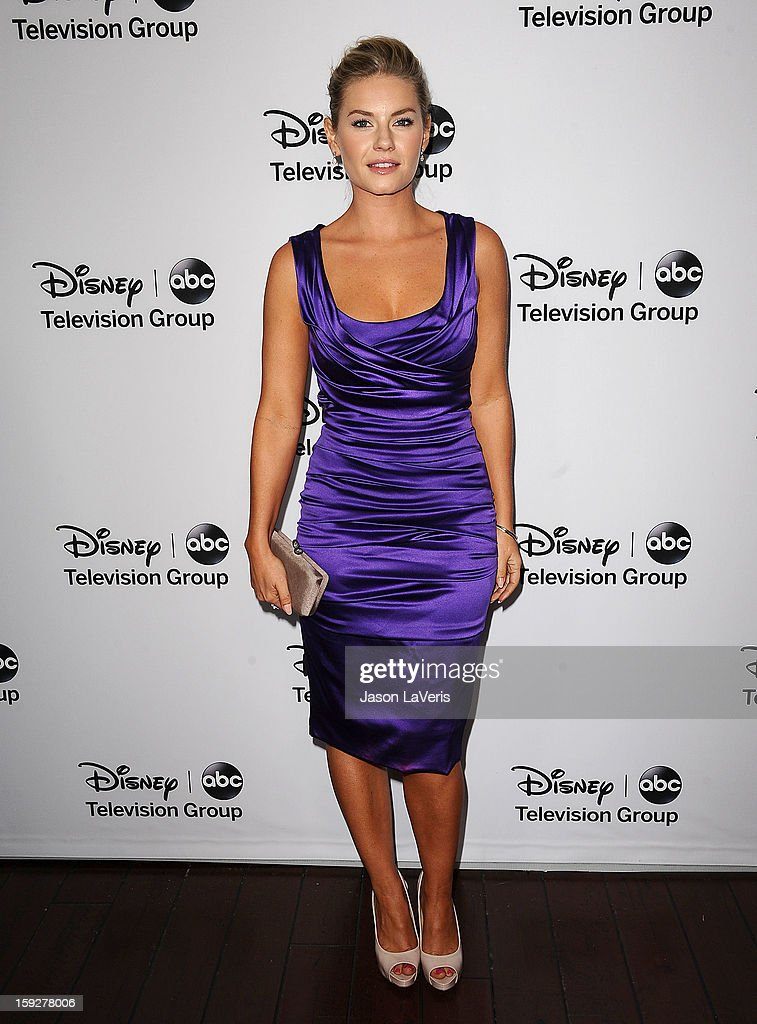 Actress Elisha Cuthbert attends the Disney ABC Television Group 2013 TCA Winter Press Tour at The Langham Huntington Hotel and Spa on January 10, 2013 in Pasadena, California.