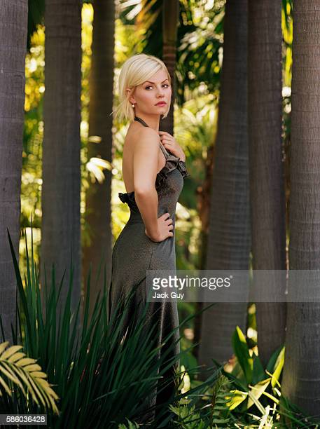 Actress Elisha Cuthbert is photographed for OK Magazine in 2006 in Los Angeles California PUBLISHED IMAGE