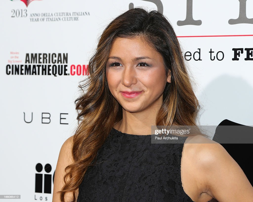Actress Elissa Shay attends the premiere of 'The Great Beauty' at the Cinema Italian Style 2013 Opening Night at the Egyptian Theatre on November 14, 2013 in Hollywood, California.