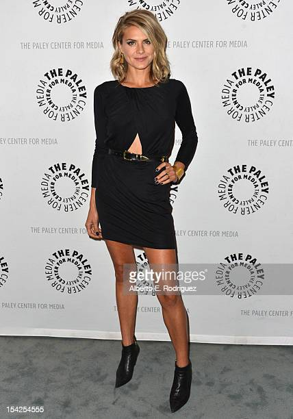 Actress Eliza Coupe arrives to The Paley Center For Media's An Evening With 'Happy Endings' and 'Don't Trust the B In Apartment 23' at The Paley...