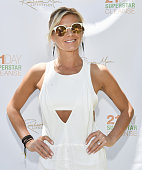 Actress Eliza Coupe attends Rainbeau Mars E Book Brunch Celebration on July 22 2016 in Beverly Hills California