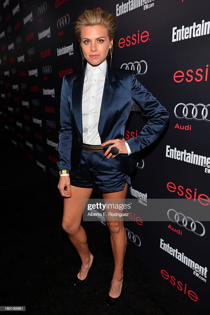 Actress <a gi-track='captionPersonalityLinkClicked' href=/galleries/search?phrase=Eliza+Coupe&family=editorial&specificpeople=4500884 ng-click='$event.stopPropagation()'>Eliza Coupe</a> attends the Entertainment Weekly Pre-SAG Party hosted by Essie and Audi held at Chateau Marmont on January 26, 2013 in Los Angeles, California.