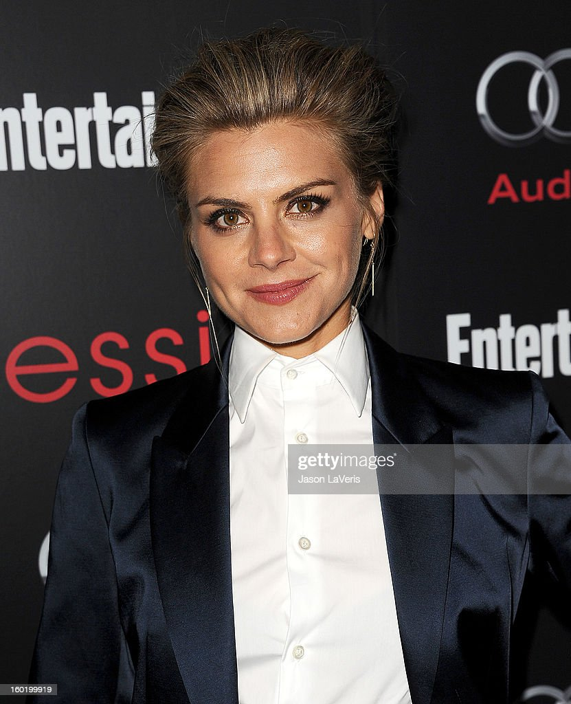 Actress Eliza Coupe attends the Entertainment Weekly Screen Actors Guild Awards pre-party at Chateau Marmont on January 26, 2013 in Los Angeles, California.