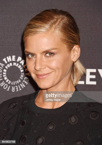 Actress Eliza Coupe attends The Paley Center for Media's 11th Annual PaleyFest fall TV previews Los Angeles for Hulu's The Mindy Project at The Paley...