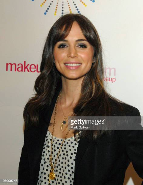 Actress Eliza Dushku arrives at 'SING' concert benefitting Camp Ronald McDonald at Orpheum Theatre on March 20 2010 in Los Angeles California