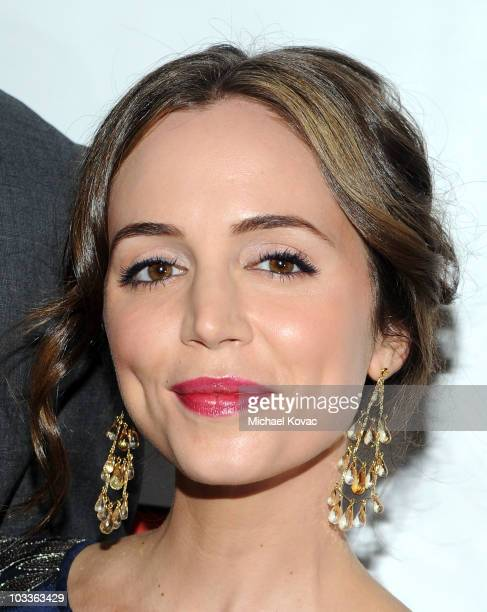 Actress Eliza Dushku arrives at the 10th Annual Harold Pump Foundation Gala at the Hyatt Regency Century Plaza on August 12 2010 in Century City...