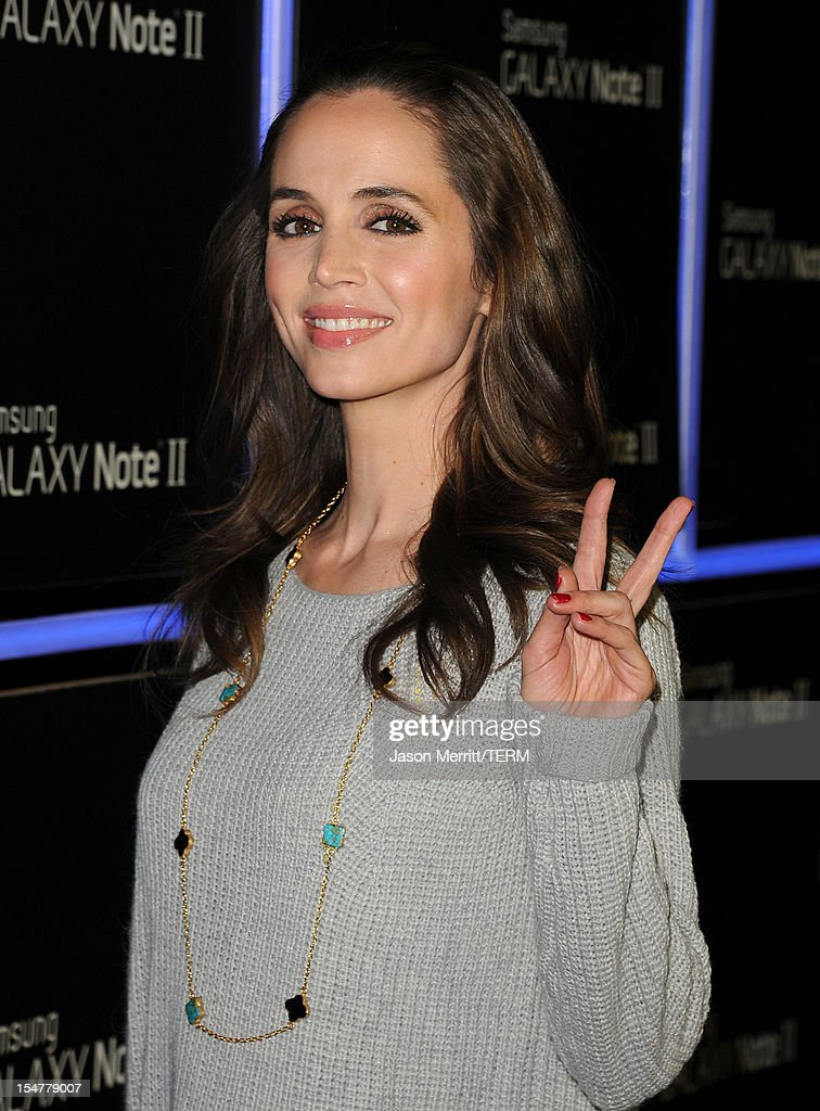 Actress Eliza Dushku attends the Samsung Galaxy Note II Beverly Hills Launch Party on October 25, 2012 in Los Angeles, California.