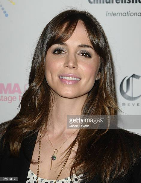 Actress Eliza Dushku attends the 'SING' concert benefitting Camp Ronald McDonald at the Orpheum Theatre on March 20 2010 in Los Angeles California