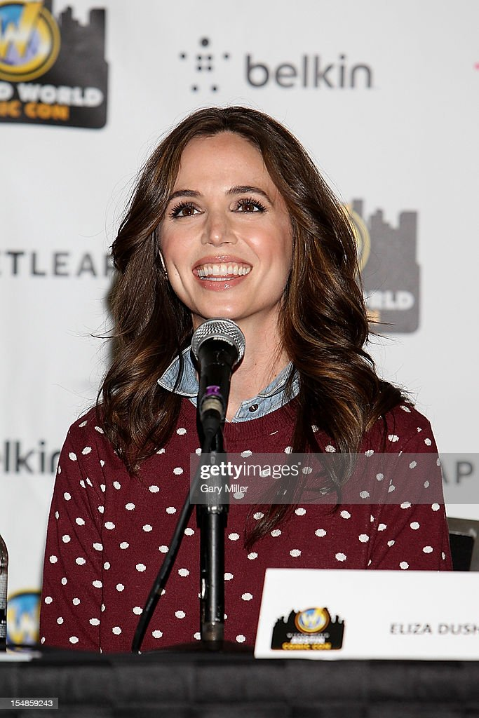 Actress Eliza Dushku attends the Wizard World Austin Comic Convention at the Austin Convention Center on October 27, 2012 in Austin, Texas.