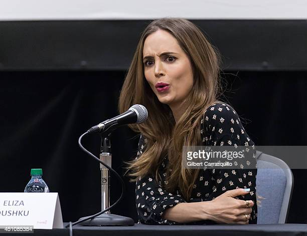 Actress Eliza Dushku attends Wizard World Philadelphia Comic Con 2014 at Pennsylvania Convention Center on June 22 2014 in Philadelphia Pennsylvania