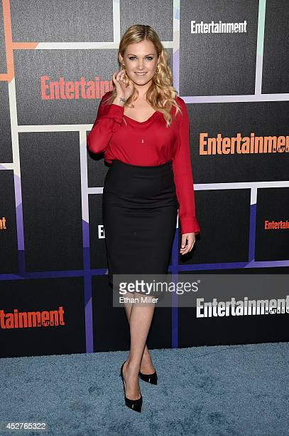 Actress Eliza Taylor attends Entertainment Weekly's annual ComicCon celebration at Float at Hard Rock Hotel San Diego on July 26 2014 in San Diego...