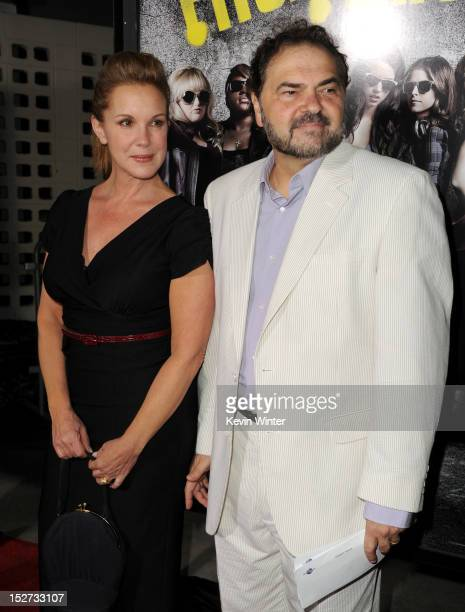 Actress Elizabeth Banks and cinematographer Julio Macat arrive at the premiere of Universal Pictures And Gold Circle Films' 'Pitch Perfect' at...