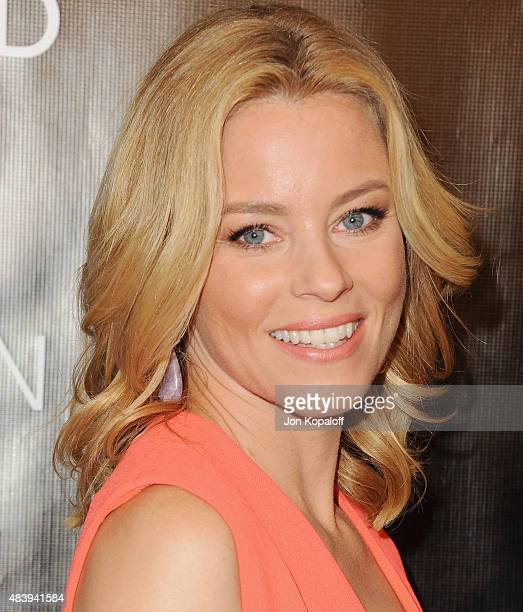 Actress Elizabeth Banks arrives at Hollywood Foreign Press Association Hosts Annual Grants Banquet at the Beverly Wilshire Four Seasons Hotel on...