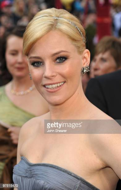 Actress Elizabeth Banks arrives at the 82nd Annual Academy Awards held at Kodak Theatre on March 7 2010 in Hollywood California