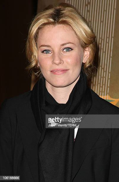 Actress Elizabeth Banks arrives at the 'Just Add Water' premiere on March 18 2008 in West Hollywood California