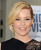 Actress Elizabeth Banks arrives at the Los Angeles Premiere of Hulu's 'Resident Advisors' at Sherry Lansing Theatre at Paramount Studios on March 31...