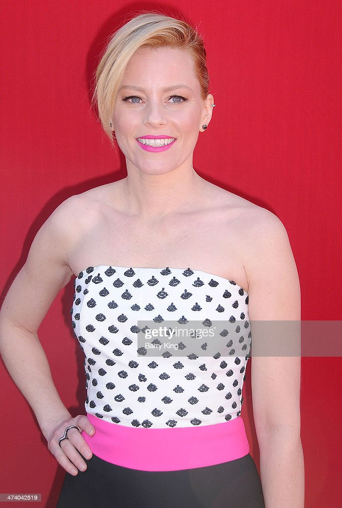 Actress <a gi-track='captionPersonalityLinkClicked' href=/galleries/search?phrase=Elizabeth+Banks&family=editorial&specificpeople=202475 ng-click='$event.stopPropagation()'>Elizabeth Banks</a> arrives at the Los Angeles premiere of 'The Lego Movie' held on February 1, 2014 at Regency Village Theatre in Westwood, California.
