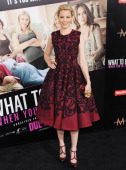 Actress Elizabeth Banks arrives at the Los Angeles Premiere 'What To Expect When You're Expecting' at Grauman's Chinese Theatre on May 14 2012 in...