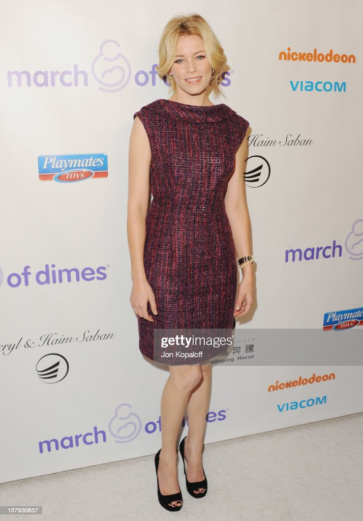 Actress <a gi-track='captionPersonalityLinkClicked' href=/galleries/search?phrase=Elizabeth+Banks&family=editorial&specificpeople=202475 ng-click='$event.stopPropagation()'>Elizabeth Banks</a> arrives at the March Of Dimes Celebration Of Babies Luncheon at Beverly Hills Hotel on December 7, 2012 in Beverly Hills, California.