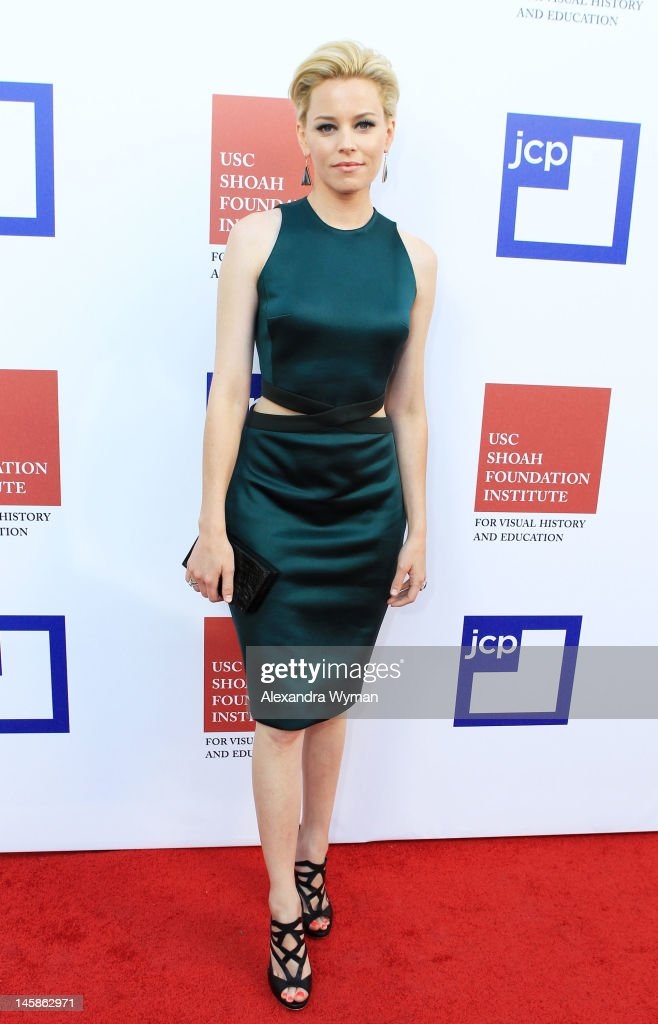 Actress <a gi-track='captionPersonalityLinkClicked' href=/galleries/search?phrase=Elizabeth+Banks&family=editorial&specificpeople=202475 ng-click='$event.stopPropagation()'>Elizabeth Banks</a> arrives at the USC Shoah Foundation Institute Ambassadors for Humanity Gala held at the Grand Ballroom at Hollywood & Highland Center on June 6, 2012 in Hollywood, California.