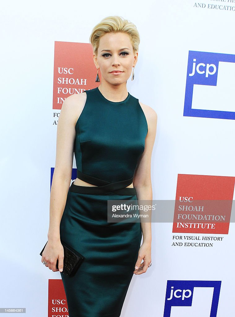 Actress Elizabeth Banks arrives at the USC Shoah Foundation Institute Ambassadors for Humanity Gala held at the Grand Ballroom at Hollywood & Highland Center on June 6, 2012 in Hollywood, California.