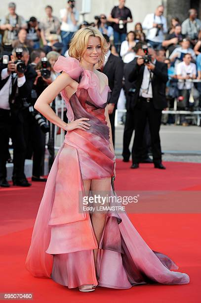 Actress Elizabeth Banks at the premiere of Poetry during the 63rd Cannes International Film Festival