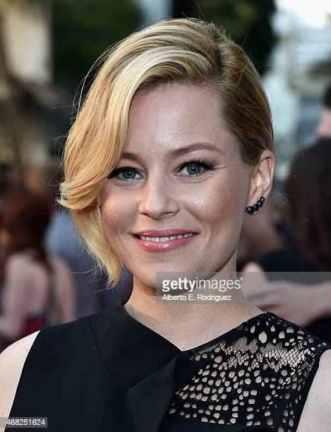 Actress Elizabeth Banks attend the premiere of Paramount and Hulu's 'Resident Advisors' at The Sherry Lansing Theatre at Paramount Studios on March...