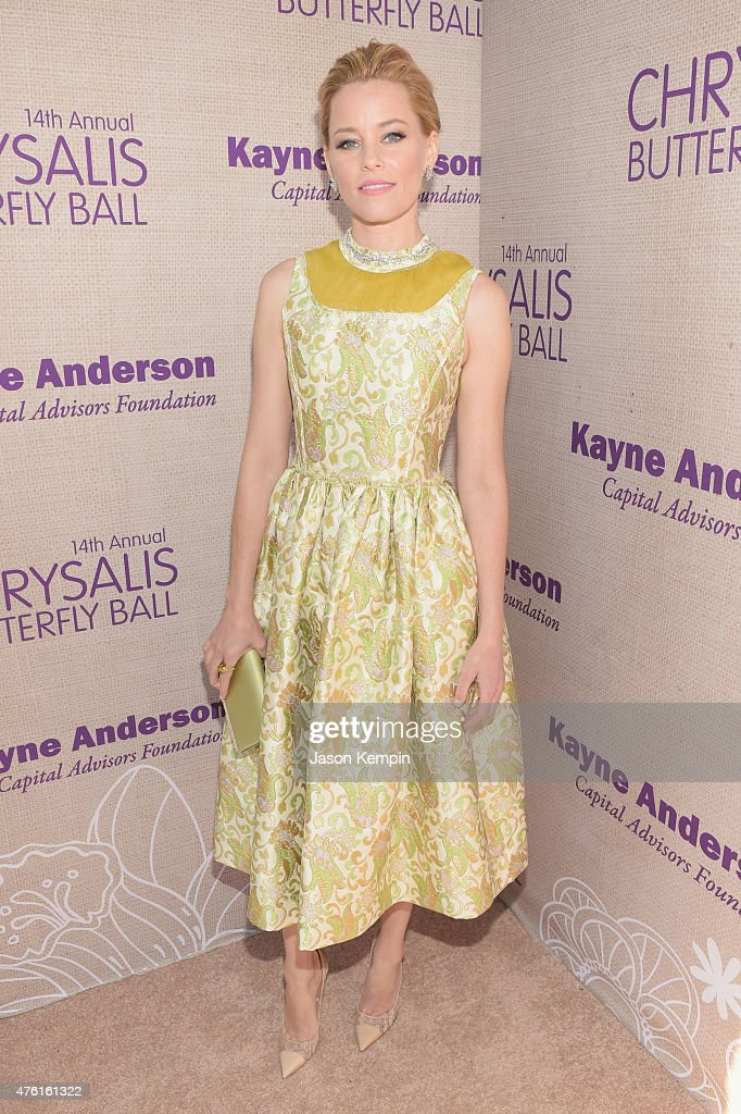 Actress <a gi-track='captionPersonalityLinkClicked' href=/galleries/search?phrase=Elizabeth+Banks&family=editorial&specificpeople=202475 ng-click='$event.stopPropagation()'>Elizabeth Banks</a> attends the 14th annual Chrysalis Butterfly Ball sponsored by Audi, Kayne Anderson, Lauren B. Beauty and Z Gallerie on June 6, 2015 in Los Angeles, California.