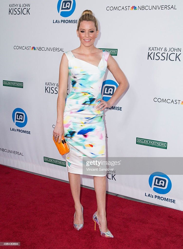 Actress Elizabeth Banks attends the 2014 LA Promise Gala at The Globe Theatre at Universal Studios on September 30 2014 in Universal City California